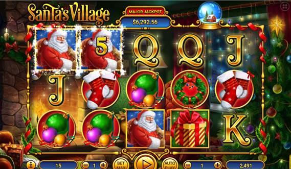 Discover the New Santas Village Slot Machine